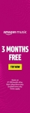 3 months Amazon Music Unlimited for free