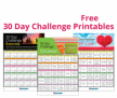 Free Printable 30 Day Mental Health Challenges