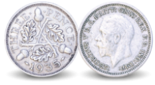 Free King George Coin